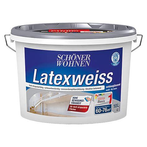 Schöner Wohnen Bauhaus by Sch 246 Ner Wohnen Latexwei 223 Basismischfarbe 10 L