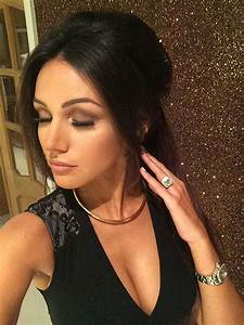 Michelle Keegan: Winter party hair and birthday ...
