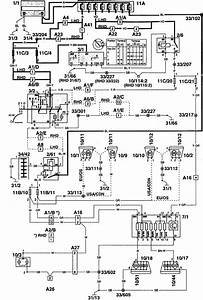 Volvo 960  1997  - Wiring Diagrams - Parking Lamp