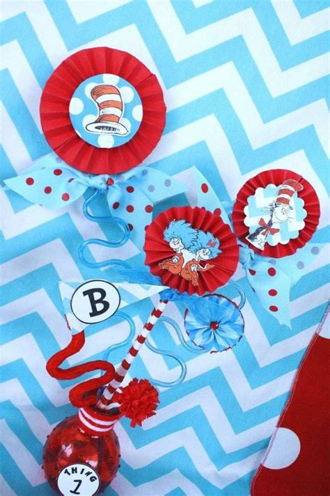 Thing One And Thing Two Decorations - kara s ideas thing one thing two dr seuss 1st
