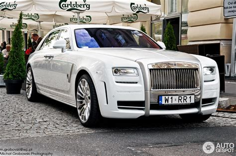 rolls royce mansory white ghost ewb limited 30 may 2012