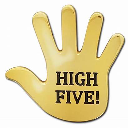 Five Hand Badge Badges Award