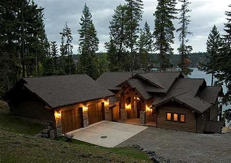sloping lot craftsman home ideas pinterest house