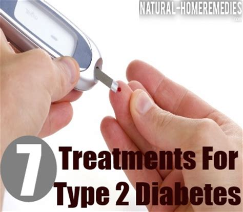 treatments  type  diabetes natural home remedies
