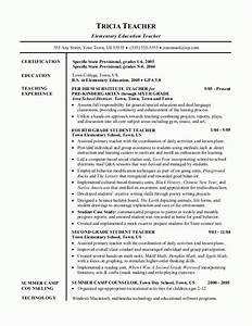 Good teacher resume best letter sample for Good teacher resume