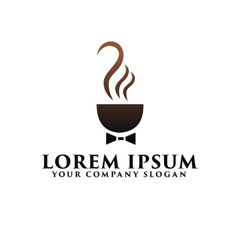 Coffee logo png you can download 29 free coffee logo png images. Coffee business with tie logo design concept template - Download Free Vectors, Clipart Graphics ...