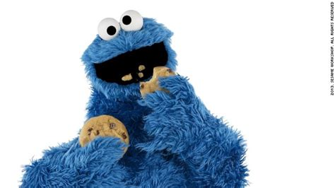 cookie monster crumbles the lint screen