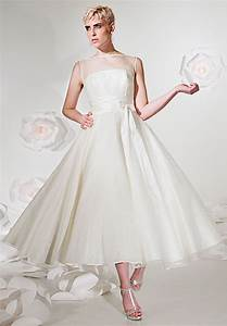 wonderful tea length ball gown wedding dresses for elegant With tea length wedding dresses