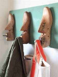 Porte Manteau Chaussure : porte manteau mural diy en 18 exemples vintage ~ Preciouscoupons.com Idées de Décoration