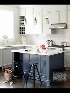 This Is The Kitchen Inspiration Blue Kitchen Island
