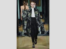 London Fashion Week Erdem Fall 2018 Collection Tom