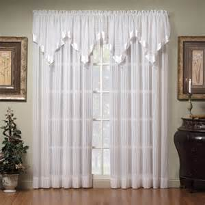 Living Room Curtains At Walmart by Sheer Curtain Valances Pink Elegance Sheer Voile Curtain