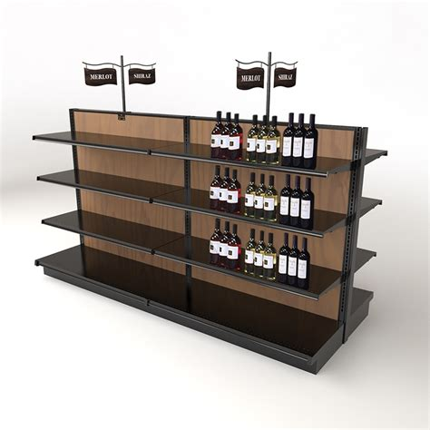 Wine Store Display Fixtures  Gondola Shelving Manufacturers
