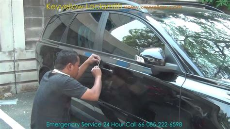 locksmith unlock car door volvo   keyyellow youtube