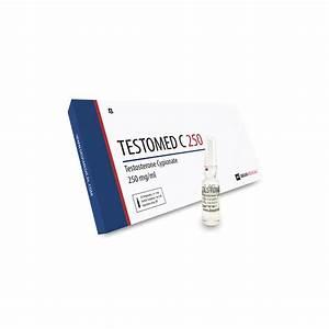 Testomed C 250  Testosterone Cypionate  - 10amps Of 1ml - Deus-medical