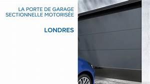 installer une porte de garage sectionnelle motorisee With installer une porte de garage