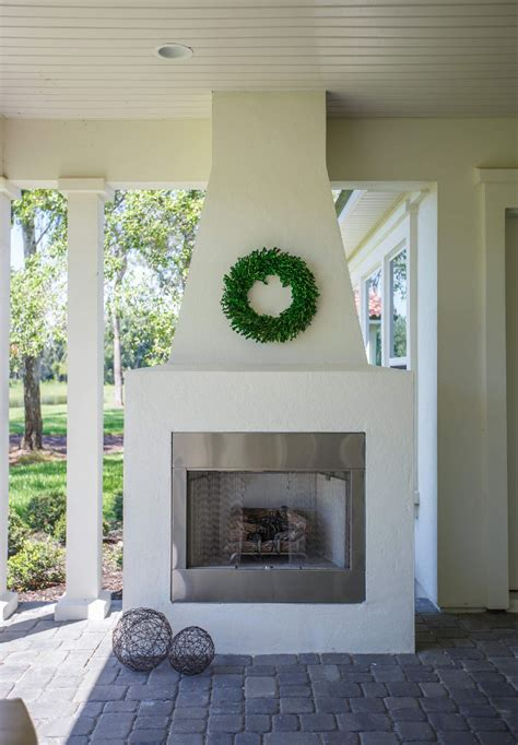 outdoor stucco fireplace category french interiors home bunch interior design ideas