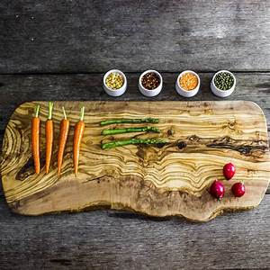 Large, Rustic, Wooden, Serving, Board, By, The, Rustic, Dish
