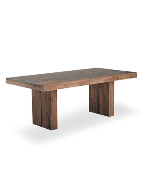 macy s furniture kitchen tables chagne dining trestle table created for macy 39 s