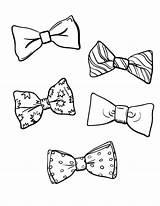 Bow Coloring Tie Pages Template Printable Birthday Jojo Bows Coloringcafe Pdf Sheets Templates Clown Drawing Siwa Sheet Ties Printables Patterns sketch template