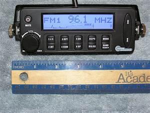 Custom Autosound Secret Audio Sst Stereo Radio With Cd1 Single Disc Cd Player