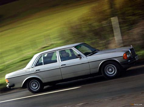 Mercedes-Benz E-Klasse UK-spec (W123) 1976–85 wallpapers ...