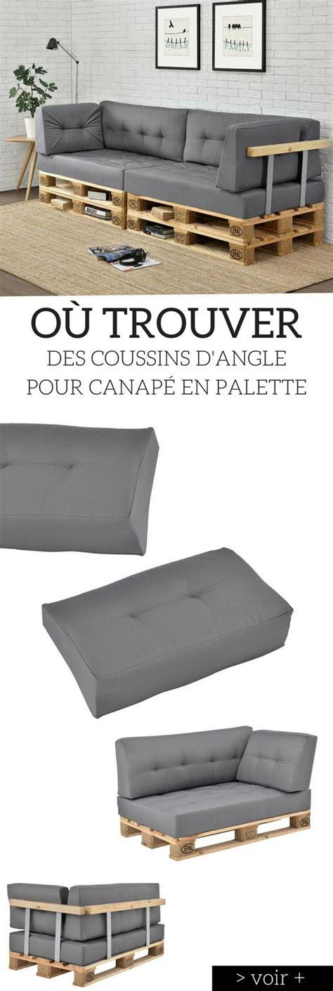 coussin pour canapé palette coussin pour canape palette maison design bahbe com