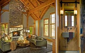 Interiors mountainside vermont house truexcullins for Interior decorators in vermont