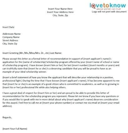 recommendation letter graduate school personal letter of recommendation visitlecce info 6896