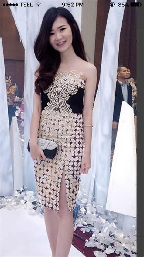 nice  batik beauty batik dress dress batik