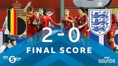 FT: Belgium 2-0 England, Tielemans And Mertens STRIKES ...
