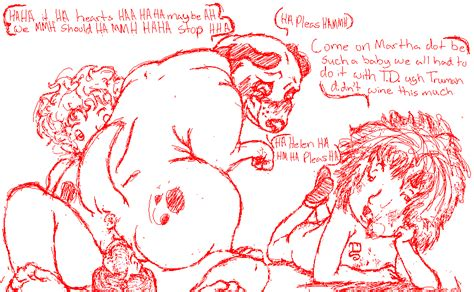 rule 34 ass blush canine english text female feral group helen lorraine human interspecies