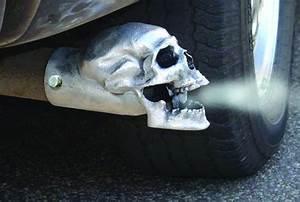 Skull Auspuff