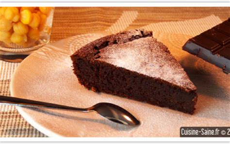 recette gateau au chocolat sans lait sans gluten