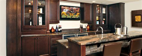 Huntwood Cabinets Bellevue Wa by Warm And Inviting Bar Custom Cabinets