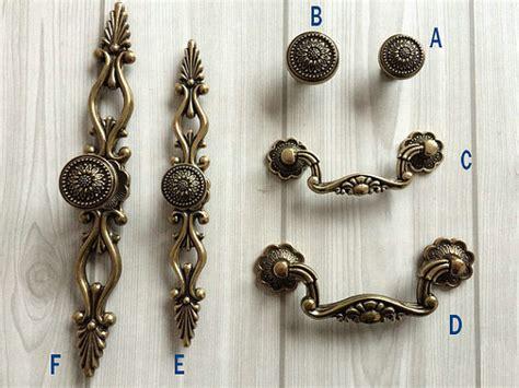 decorative drawer pulls dresser knobs drawer pulls handle sunflower antique bronze