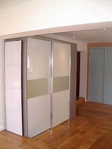 Porte Coulissante Placard : porte coulissante de placard porte coulissant placard ~ Premium-room.com Idées de Décoration