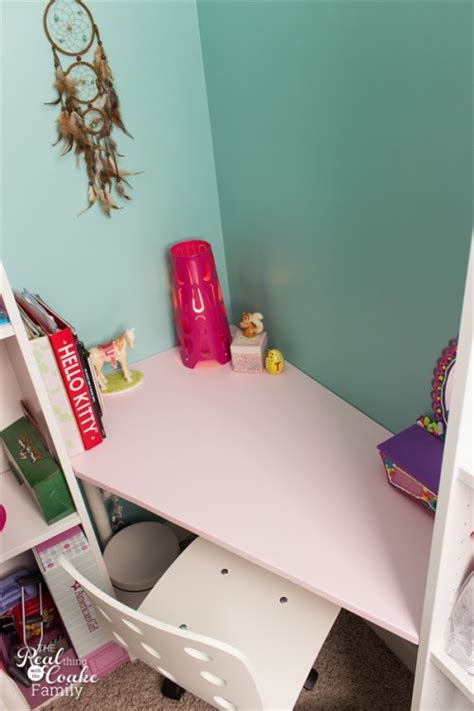 diy kids desks  art craft  studying shelterness