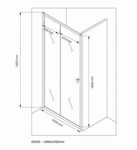 Porte Coulissante Grande Largeur : paroi porte de douche en niche nano verre v ritable ~ Dailycaller-alerts.com Idées de Décoration