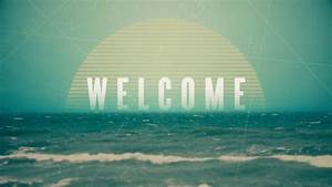 Vintage Ocean Welcome      Centerline New Media