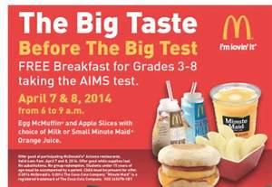 Arizona Families: Arizona McDonald's Offering 3rd-8th ...
