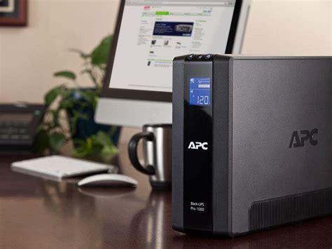apc back ups pro 1000va ups battery backup surge protector br1000g home audio
