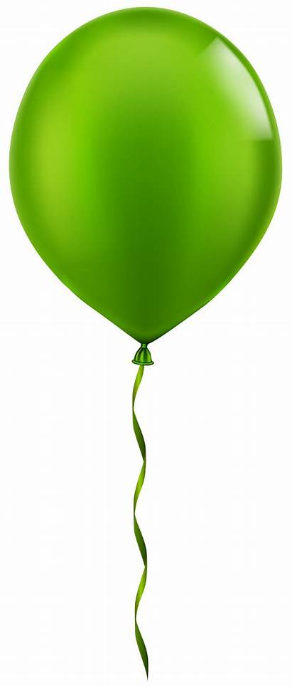 Balloon Clip Single Clipart Balloons Birthday Transparent