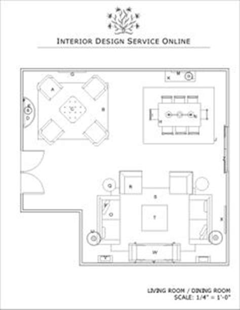 A list of small, medium and large living room size