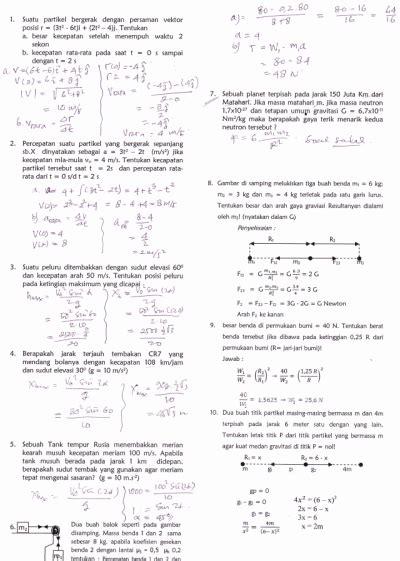 Contoh Soal Dan Jawaban Fisika Kelas Xi Semester 2