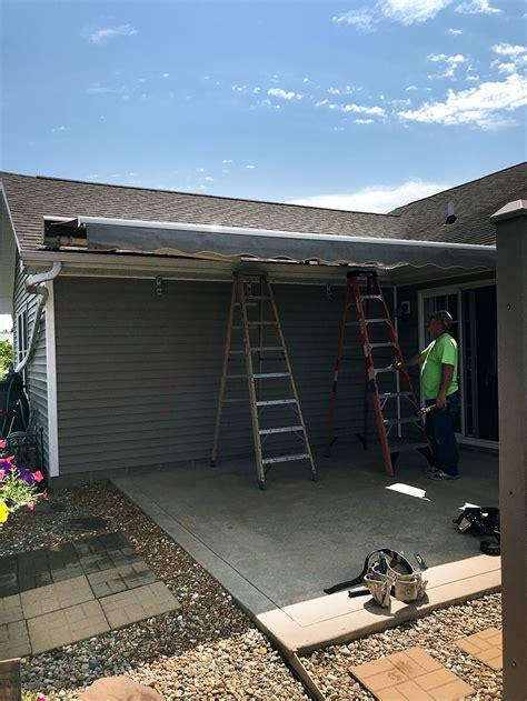 sunsetter retractable awning dealer  installation pratt home improvement