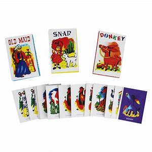 Retro Card Games - Pack Of 3 | Playing Cards at The Works