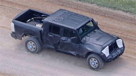 2019 jeep wrangler pickup truck 2019 jeep wrangler pickup price release date spy