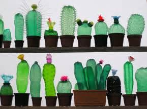 Plastic Bottle Cactus Inspiration by artist Veronik ...