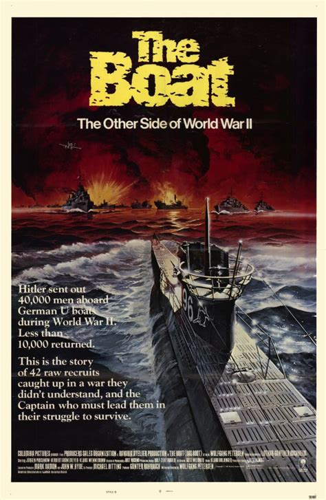 Movies With Boat In The Title by Das Boot Movie Posters From Movie Poster Shop